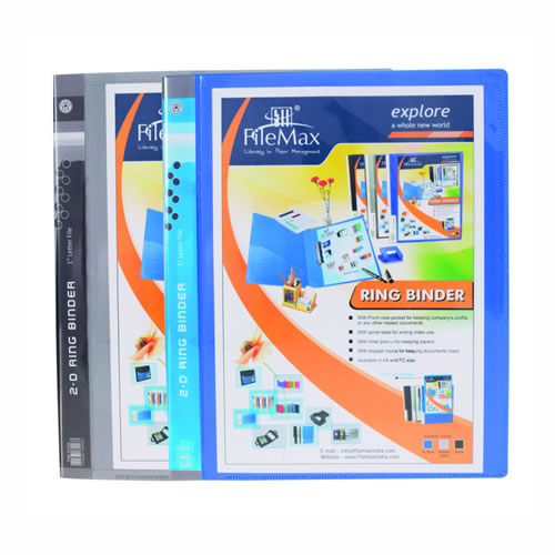 Ring Binder With Front View Pocket : FM532 A / F